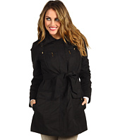 Ellen Tracy - Belted Trench w/Stowed Hood