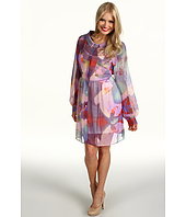ABS Allen Schwartz - L/S Babydoll Shirt Dress