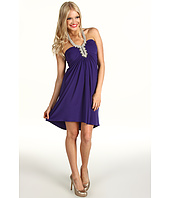 ABS Allen Schwartz - Embellished Neckline Dress