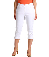 NYDJ Plus Size - Plus Size Edna Crop in Optic White