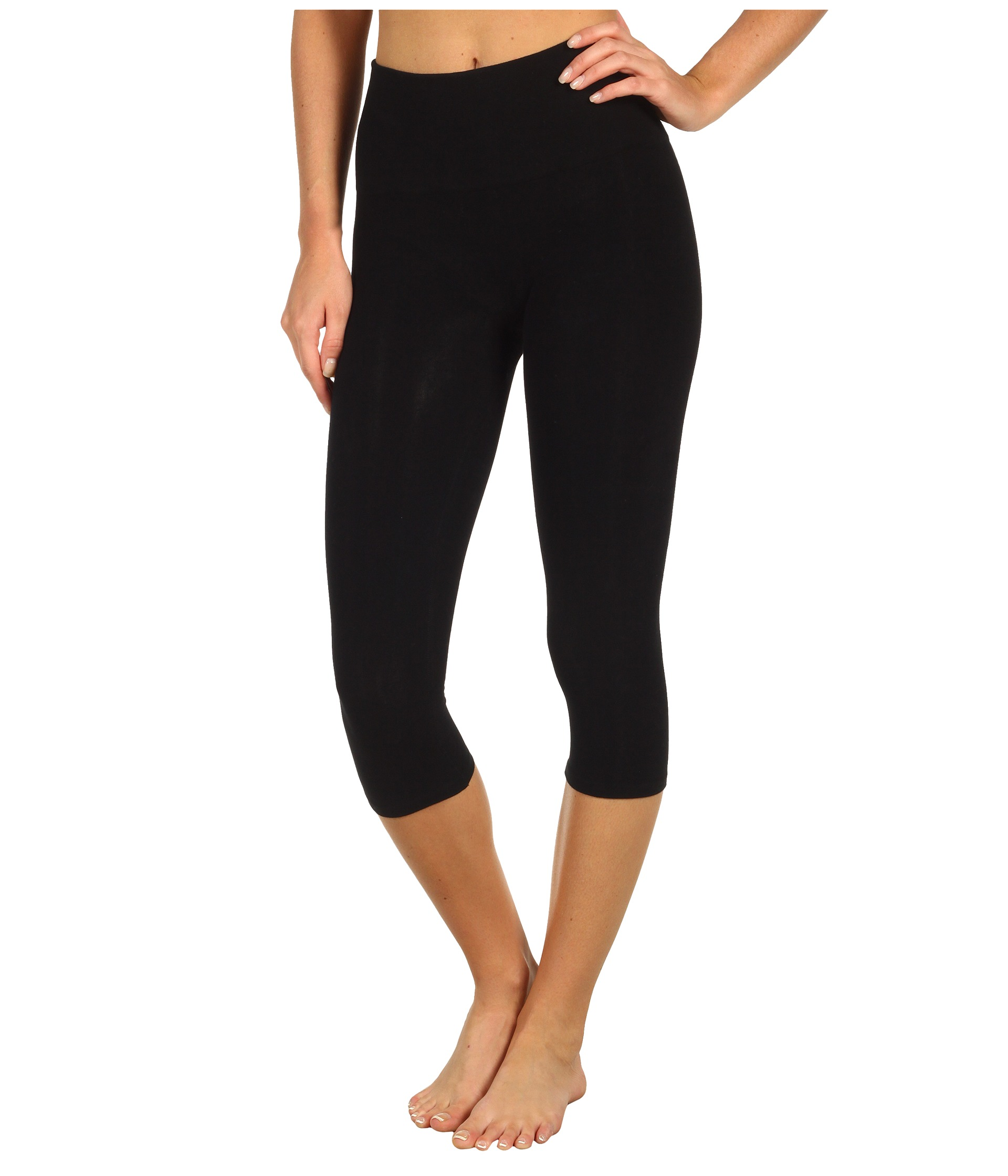 Spanx Look-at-Me Leggings Cotton Capri - Zappos.com Free Shipping BOTH Ways
