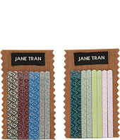 Jane Tran - Diamond Mosaic Print Assorted Bobby Pin Set