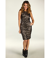 Mark & James by Badgley Mischka - Mark & James Sleevless Sequin Sheath Dress