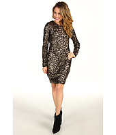 Mark & James by Badgley Mischka - Mark & James Sequin Long Sleeve Mini
