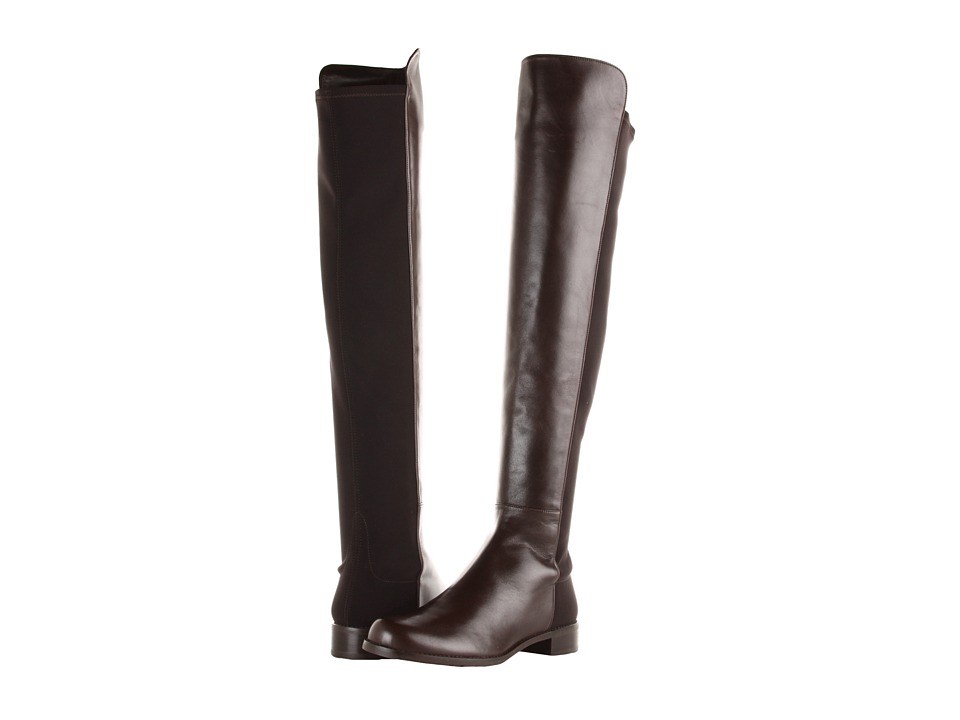 Stuart Weitzman 5050 (Cola Nappa) Women's Pull-on Boots