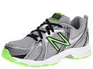 New Balance Kids KJ554 Little Kid, Big Kid Black, Green Shoes