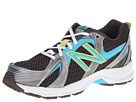 New Balance Kids KJ554 Little Kid, Big Kid Grey, Blue Shoes