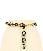 Anne Klein - Anne Klein Resin and Metal Link Chain Belt