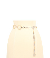 Anne Klein - Anne Klein Two Tone Chain Belt