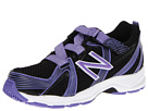 New Balance Kids KV554 Little Kid, Big Kid Black, Purple Shoes