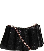 Ted Baker - Bowvet Langley Glitter Bow Velvet Evening Bag
