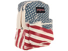 JanSport Super FX Series (White Faded Stars)