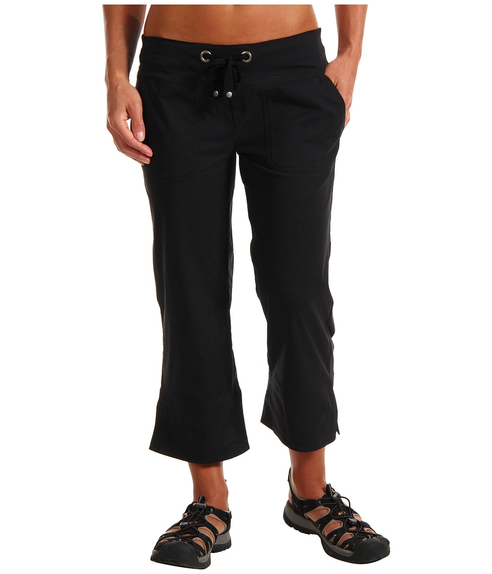 Prana - Bliss Capri (Black) Womens Capri