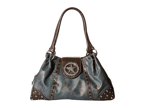 M&F Western Texas Star Shoulder Bag