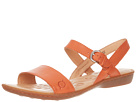 Born - Janna Sandal (Orange Full Grain Leather) Sandal
