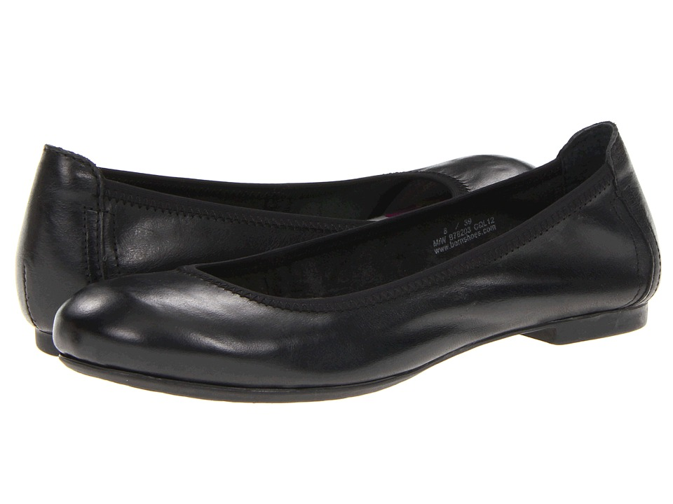 Born Julianne (Black Full Grain Leather) Flats