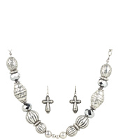 Nocona - Antiqued Beaded Necklace/Earring Set
