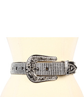 Cheap Nocona Crystal Concho Rhinestone Belt Black