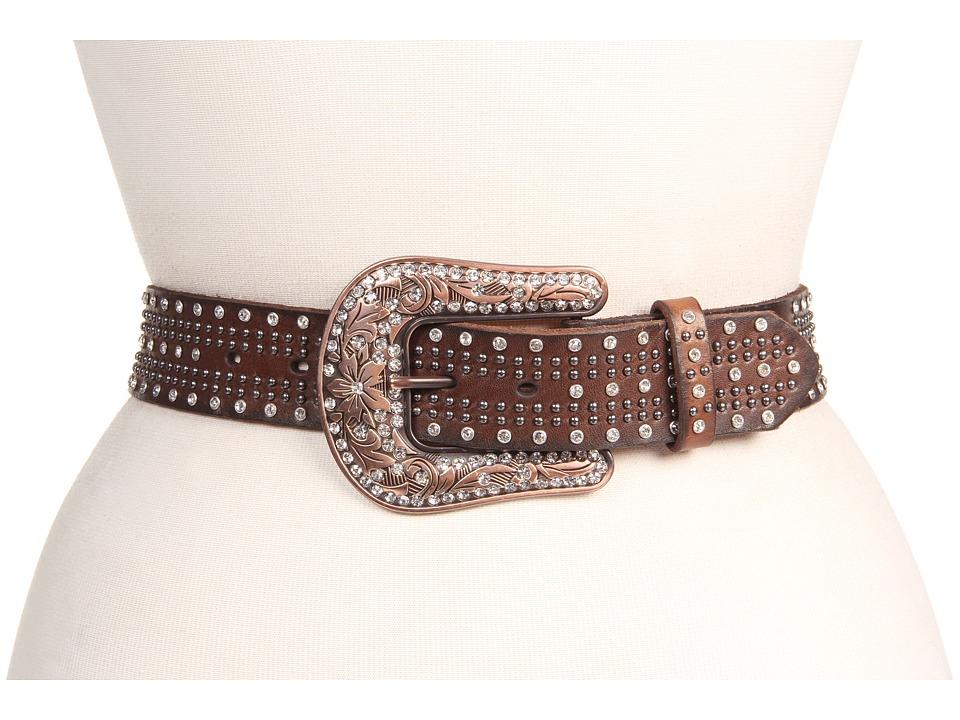 M&F Western - Studded Belt w/ Bronze Buckle