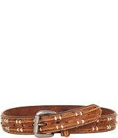 Cheap Nocona Ostrich Spine Belt Brown