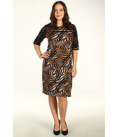 Karen Kane Plus - Plus Size Lace Yoke Dress