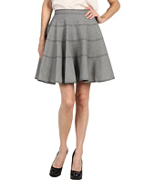 Z Spoke ZAC POSEN - Houndstooth Skirt