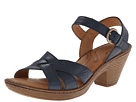 Born - Belinda Sandal (Jeans Burnished Full Grain Leather) - Footwear