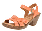 Born - Belinda Sandal (Arancio (Orange) Burnished Full Grain Leather) Sandal