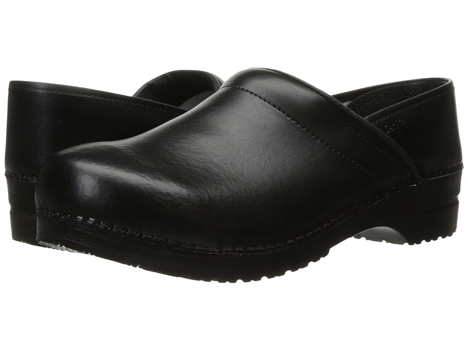 Sanita - Professional PU (Black) Mens Clog Shoes