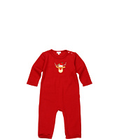 le top - Merry Reindeer French Rib Coverall (Newborn/Infant)