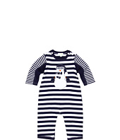 le top - Snow Day Stripe Coverall (Newborn/Infant)