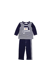 le top - Snow Day Stripe Shirt & French Terry Pant (Infant/Toddler)