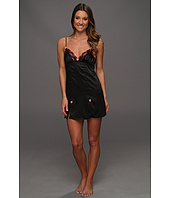 Betsey Johnson - Sultry Stretch Satin Lace Slip