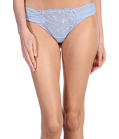 Betsey Johnson - Heart Lace and Mesh Thong