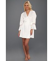 Betsey Johnson - Sultry Stretch Satin Lace Robe