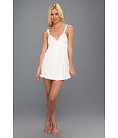 Betsey Johnson - Luscious Knit and Chiffon Slip