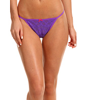 Betsey Johnson - Stretch Lace Adjustable Thong