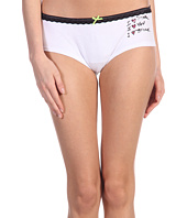 Betsey Johnson - Lo-Rise Stretch Cotton Boyshort