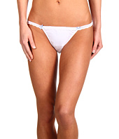 Betsey Johnson - Stretch Cotton w/ Lace Bridal String Bikini