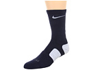 Nike - Elite BasketBall Crew 1-Pair Pack (Midnight Navy/White/White)