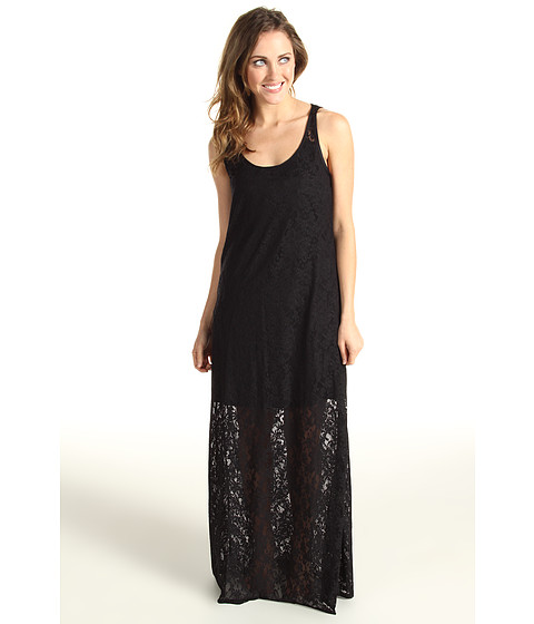 Tommy Bahama - Lace Long Tank Dress (Black) - Apparel