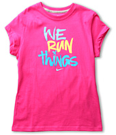 Nike Kids - We Run Things S/S Tee (Big Kids)