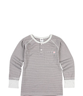 Appaman Kids - Button Front Stripe L/S Henley (Toddler/Little Kids/Big Kids)
