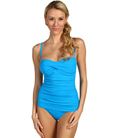 Tommy Bahama - Pearl Solids Twist Front Cup One Piece