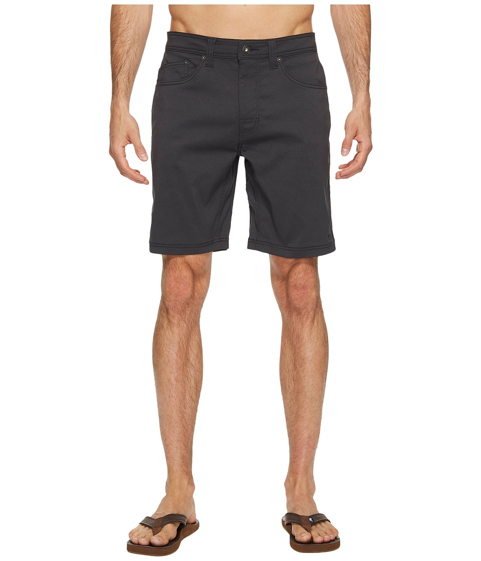 Prana Brion Short (Charcoal) Men