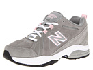 New Balance WX608v3 Grey, Pink Shoes