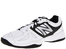 New Balance MC696 White, Silver Shoes