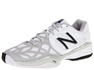 New Balance WC996 White, Silver Shoes