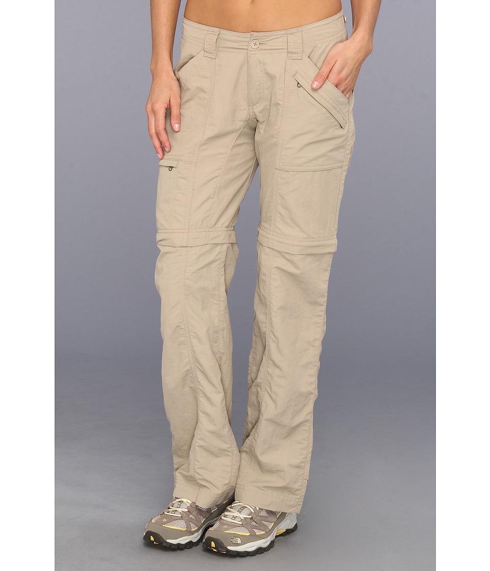 Royal Robbins Backcountry Zip N Go Pant Khaki Womens Clothing