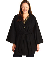 Jessica Simpson - Plus Size Hooded Belted Cape